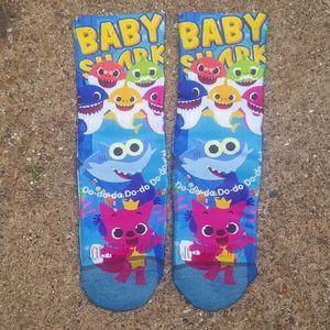 Baby shark socks